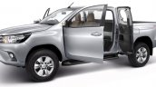2016 Toyota Hilux Revo Smart Cab press shots