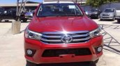 2016 Toyota Hilux Revo front Red spied