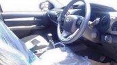 2016 Toyota Hilux Revo interior Red spied