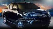 2016 Toyota Hilux Revo leaked