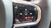 2015 Volvo XC90 steering controls india launch