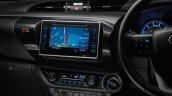 2016 toyota hilux interior 7 inch touchscreen display press images
