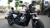 Customized Harley-Davidson Street 750 for Gujarat Police front quarters