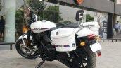Customized Harley-Davidson Street 750 for Gujarat Police rear quarter