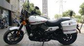 Customized Harley-Davidson Street 750 for Gujarat Police side