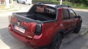 Dacia Duster pick up rear quarter spotted in the wild