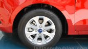 Ford Figo Aspire alloy wheel from unveiling