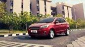 Ford Figo Aspire front quarter press shots