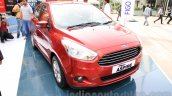 Ford Figo Aspire front three quarter left from unveiling
