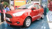 Ford Figo Aspire front three quarter right from unveiling