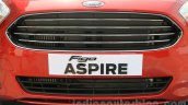 Ford Figo Aspire grille from unveiling