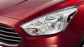 Ford Figo Aspire headlight press shots