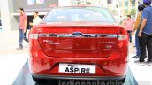 Ford Figo Aspire rear from unveiling