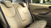 Ford Figo Aspire rear seat press shots