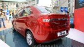 Ford Figo Aspire rear three quarter left from unveiling