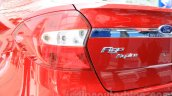 Ford Figo Aspire taillamp from unveiling