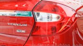 Ford Figo Aspire taillight from unveiling