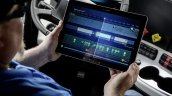 Freightliner Inspiration Truck digital tablet press image