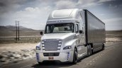 Freightliner Inspiration Truck in motion press image