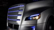 Freightliner Inspiration Truck lights illuminated press image