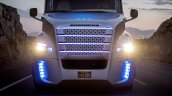 Freightliner Inspiration Truck lights on press image