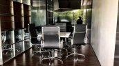 Maruti NEXA premium showroom lounge