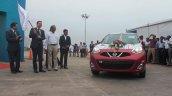 Nissan 500,000th Export Sicard flag off