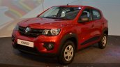 Renault Kwid front quarter India unveiling