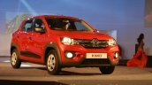 Renault Kwid front three quarter from India