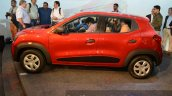 Renault Kwid side profile India unveiling
