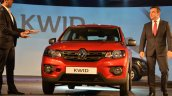 Renault Kwid with Carlos Ghosn from India