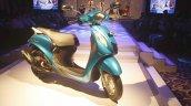 Yamaha Fascino Launch at Mumbai front right quarter