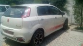 2015 Abarth Punto Evo rear three quarter spotted in the wild