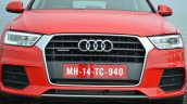 2015 Audi Q3 facelift Singleframe grille India Review