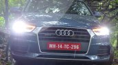 2015 Audi Q3 facelift front fascia India Review