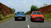 2015 Audi Q3 facelift front tracking India Review