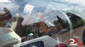 2015 Chevrolet Trailblazer dashboard snapped up close