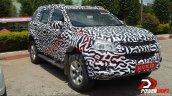 2015 Chevrolet Trailblazer front three quarter snapped up close