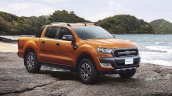 2015 Ford Ranger Wildtrak front three quarter (1) launched in Thailand