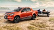 2015 Holden Colorado Z71 side unveiled in Australia