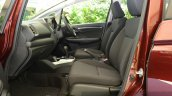 2015 Honda Jazz 1.2 VX MT front seat India