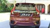 2015 Honda Jazz 1.2 VX MT rear India