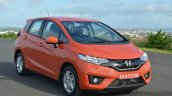 2015 Honda Jazz Diesel VX MT front quarter Review