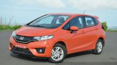 2015 Honda Jazz Diesel VX MT front quarters Review