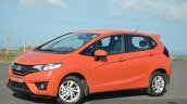 2015 Honda Jazz Diesel VX MT front three quarters Review