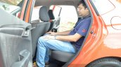 2015 Honda Jazz Diesel VX MT rear space Review