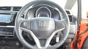 2015 Honda Jazz Diesel VX MT steering wheel Review