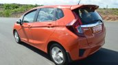 2015 Honda Jazz Diesel VX MT tracking rear quarter Review