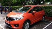 2015 Honda Jazz Orange front quarter India