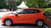 2015 Honda Jazz Orange side India